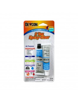 DEVCON S-35 2-Ton® Epoxy - 1oz /28.40g, (Crystal Clear)