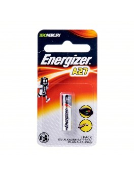 ENERGIZER Miniature Alkaline 12V Battery- 1pc/card (A27 BP1)