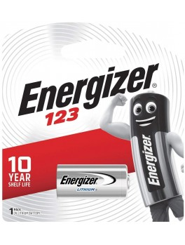 ENERGIZER Specialty Lithium 3V Battery- 1pc/card (EL123 BP1)
