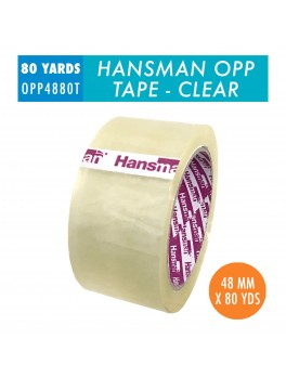 HANSMAN OPP Tape- Transparent