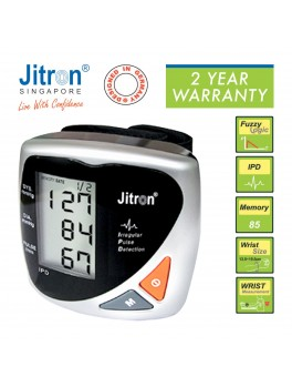 JITRON Digital Wrist Blood Pressure Monitor- BPI-801W