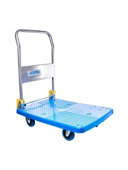 JASMINE Heavy Duty PVC Trolley with PU Castor Wheels- 150kg