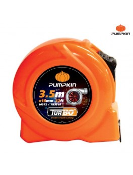 PUMPKIN 10374 Turbo Measuring Tape 5m/16ftx25mm