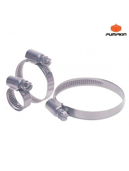 "PUMPKIN 11403 Stainless Steel Hose Clamp 1/2""-3/4"""