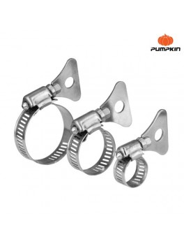 "PUMPKIN 11414 Wing Type Stainless Steel Hose Clamp 3/8""- 5/8"""