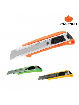 PUMPKIN 12118 Auto Locking Multi-Purpose Knife S/P 18mm