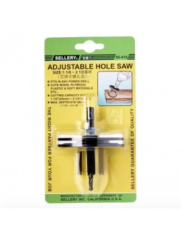 SELLERY 05-415 Adjustable Hole Saw