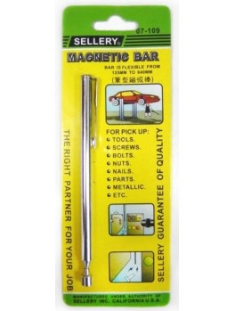 SELLERY 07-109 Silver Magnetic Bar- 25 - 640mm