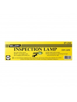 SELLERY 07-210 Inspection Light- 220V / 60W Bulb