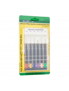 SELLERY 11-142  6pc Precision Screwdriver Set