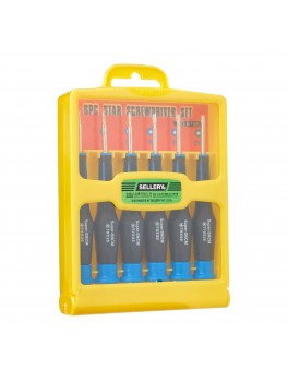 SELLERY 11-198 6pc Torx Screwdriver Set