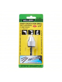 SELLERY 11-243 Drill Chuck- 6mm / 1/4""