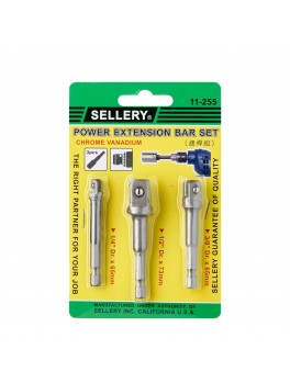 SELLERY 11-255 Power Extension Bar Set