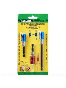 SELLERY 11-257 3pc Bit Holder Set