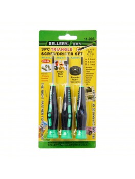 SELLERY 11-903  3pcs Triangle Screwdriver Set