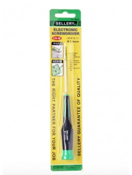 SELLERY 11-943 Precision Screwdriver- Slotted 2.4mm