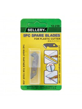 SELLERY 12-238 5pc Plastic Cutter Blades