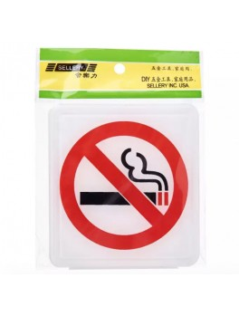 "SELLERY 16-065 ""No Smoking"" Sign"