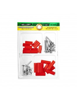 SELLERY 19-004 Screw & Anchor Kit