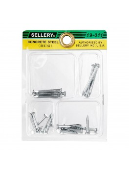 SELLERY 19-011 Steel Nail Set