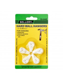SELLERY 19-045 Hard Wall Hangers- 30mm