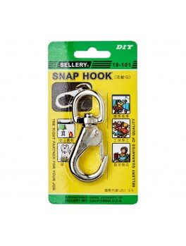"SELLERY 19-101 Snap Hook- 3/4""x3 3/8"""