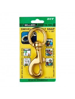 SELLERY 19-106 Swivel Eye Bolt Snap- 1 1/8""