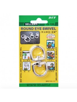 SELLERY 19-120 Round Eye Swivel 3/4""