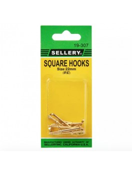 SELLERY 19-307 Square Hooks- 22mm