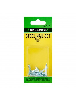 SELLERY 19-313 Steel Nail Set- 1""