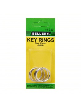 SELLERY 19-329 Key Rings- 25mm