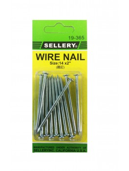 SELLERY 19-365 Wire Nails #14 x 2""
