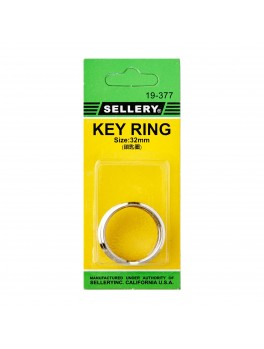 SELLERY 19-377 Key Rings- 32mm