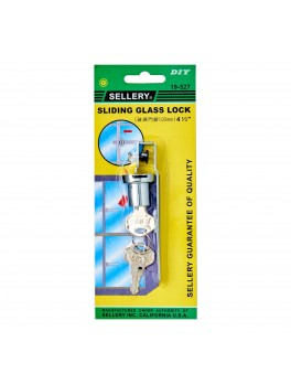 SELLERY 19-527 Sliding Glass Lock 4.5""