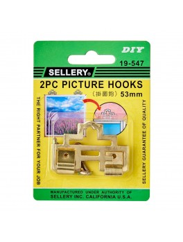 SELLERY 19-547 Picture Hooks- 53mm
