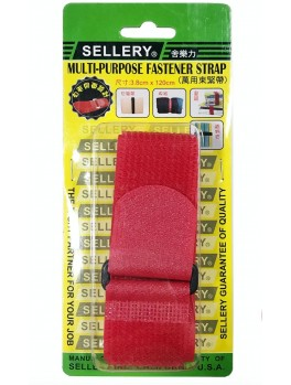 SELLERY 19-909 Multi-Purpose Fastener Strap - Red