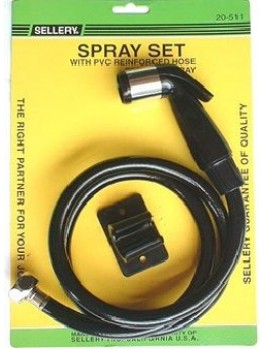 SELLERY 20-511 Spray Set 100cm (Black)