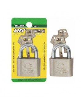 SELLERY 22-234 Short Square Padlock 40mm