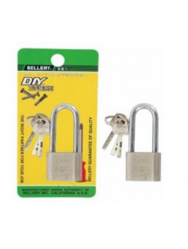 SELLERY 22-243 Long Square Padlock 30mm