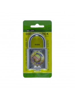 SELLERY 22-400 Digital Padlock 40mm- Chrome
