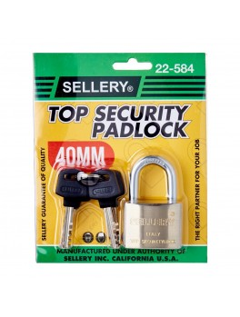 SELLERY 22-584 Steel Padlock, Size: 40mm