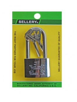SELLERY 22-721 Padlock (S/S Long Shackle) 40mm