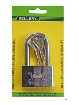 SELLERY 22-722 Padlock (S/S Long Shackle) 50mm