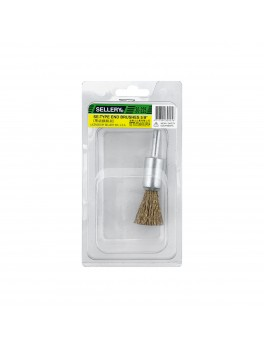 "SELLERY 30-225 End Brush, Size: 5/8""x25mm"