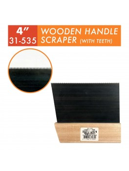 SELLERY 31-535 Wooden Handle Scraper 4