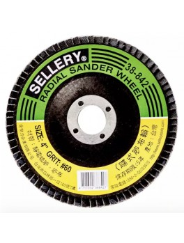 SELLERY 38-842 Radial Wheel #60, Size: 100mmx2mmx16mm