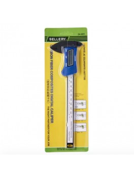 SELLERY 54-601 Digital Caliper, Range: 0-150mm, Resolution: 0.1mm