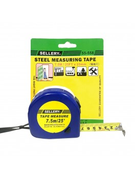 SELLERY 55-558 Measuring Tape- 7.5M/25'x25mm