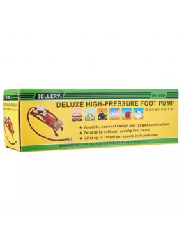 SELLERY 56-705 Deluxe High-Pressure Foot Pump