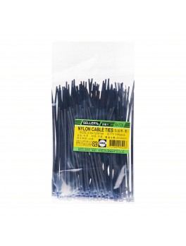 SELLERY 59-012 Nylon Cable Tie, Size: 2.5mm x 120mm (Black)